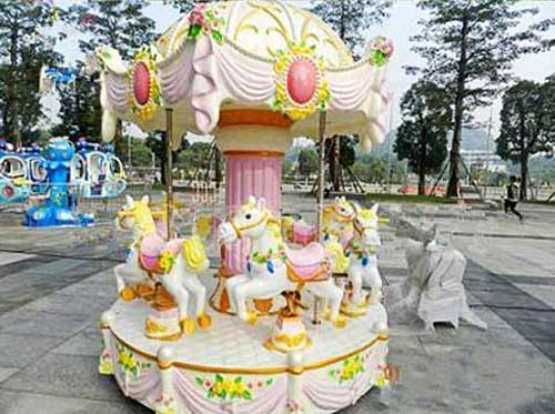 mini carousel for kids