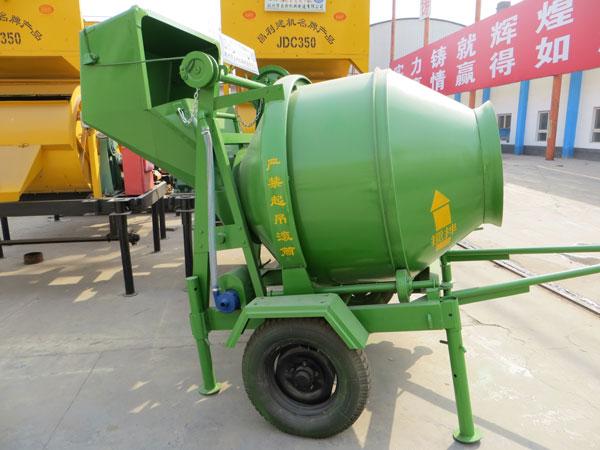 mobile electric concrete mixer for sale